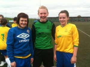 Emma, Jackie and Lyn