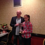 Managers player of the year Chloe McCarron
