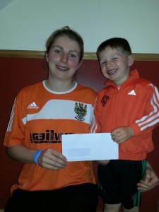 sponsorship from Daniel & William Cloughley