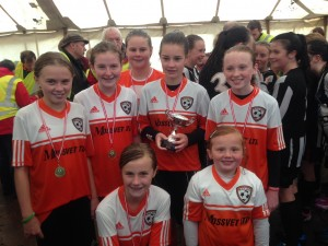 u13s with the Adair Cup